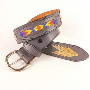 South Western New Mexico Cowboy Inspired Belt